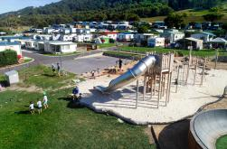 More play equipment at BIG4 Apollo Bay Pisces Holiday Park