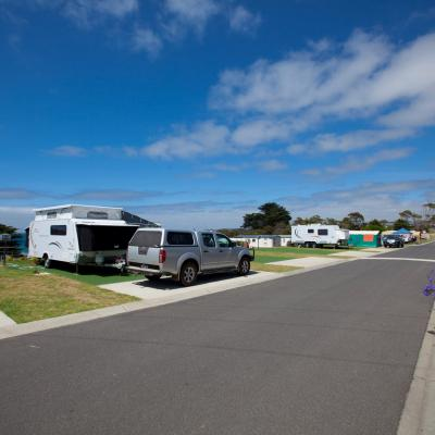 BIG4 Apollo Bay Pisces Caravan Park Ocean View Sites