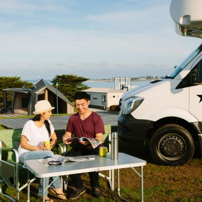 BIG4 Apollo Bay Pisces Great Ocean Road Camping Caravan Sites