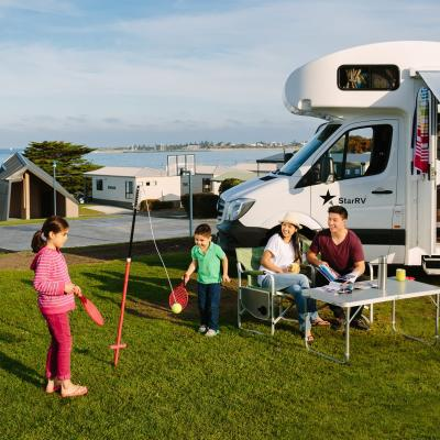 BIG4 Apollo Bay Pisces Powered Caravan Camping Sites