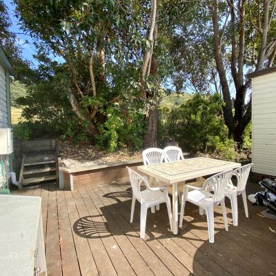 BIG4 Apollo Bay Pisces 17 Whiting Street Rear Deck