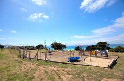 Our beautiful Adventure Playground has spectacular ocean views and family friendly fun!
